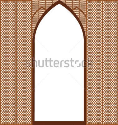 Door clipart islamic #1