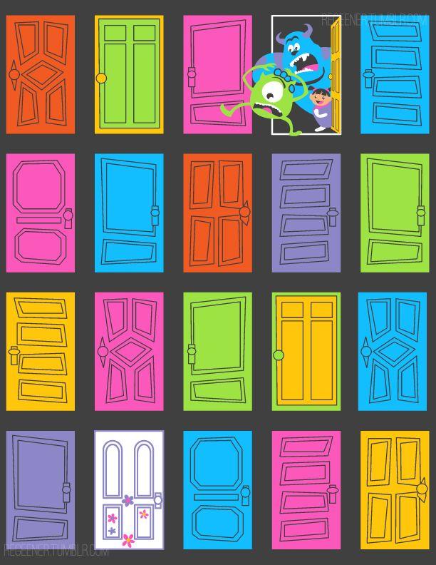 Door clipart monsters inc 25+ Door inc online doors