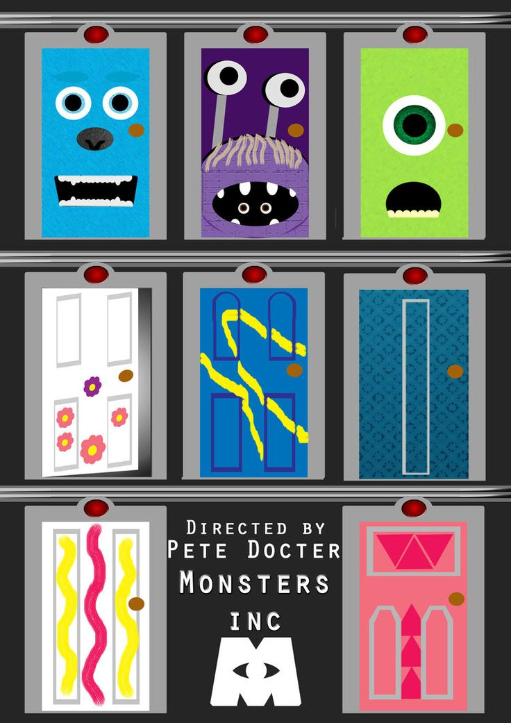 Door clipart monsters inc Images 436 ideas on ·