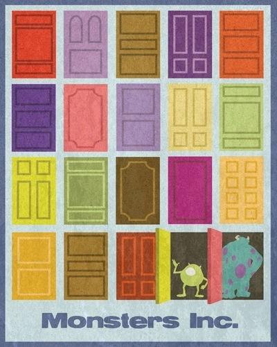 Door clipart monsters inc Door design best Would birthday