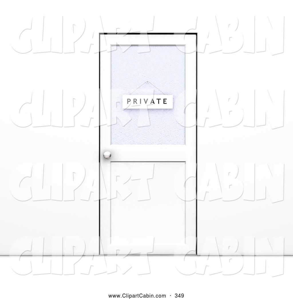 Door clipart office building Hanging Clip Sign Door Closed