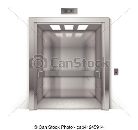 Door clipart office building Vector Vector Background Metal Office