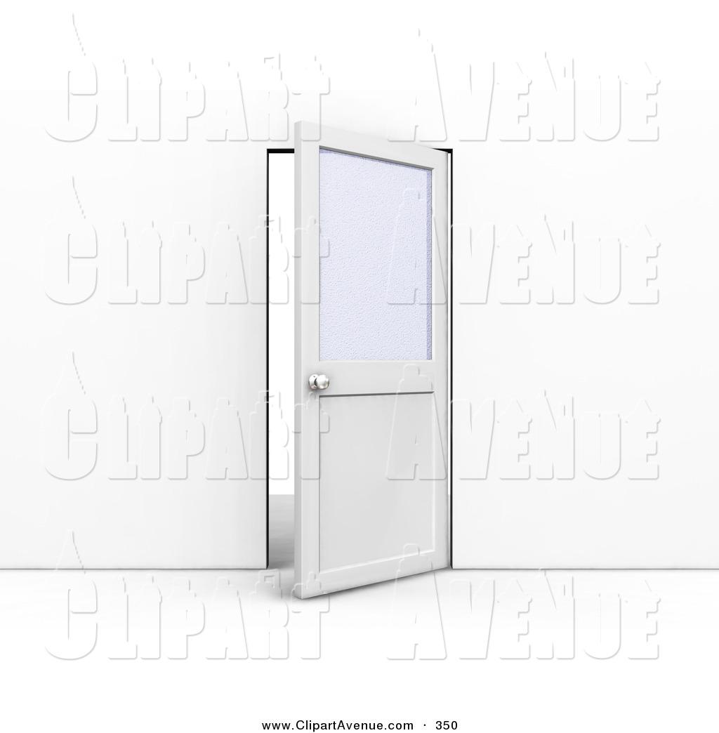 Doorway clipart door ajar Illustrations Door Office Free Avenue