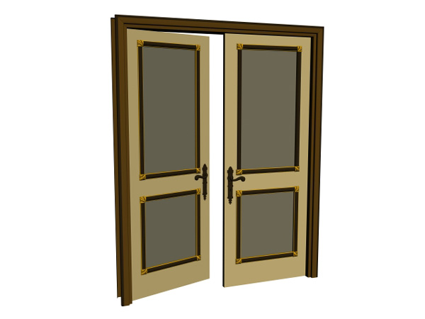 Door clipart open door #13