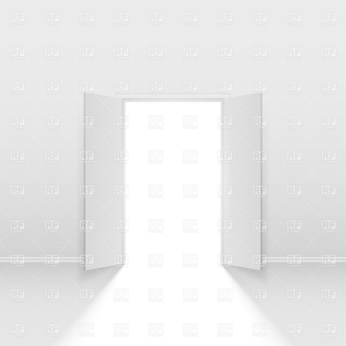Open Door clipart double door  7129showing jpg