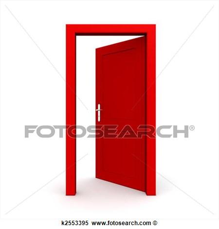 Open Door clipart exit door #3