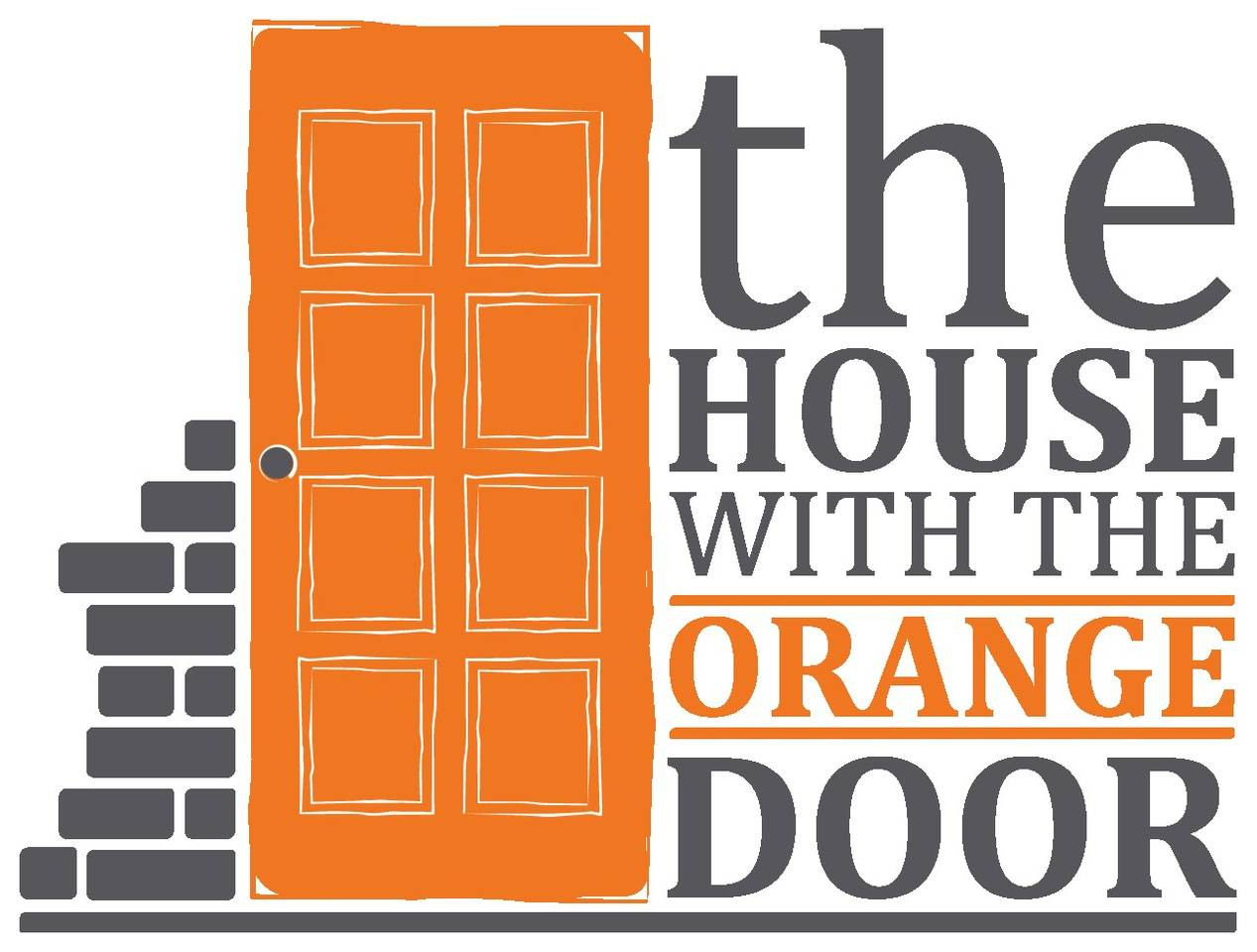 Door clipart orange #8