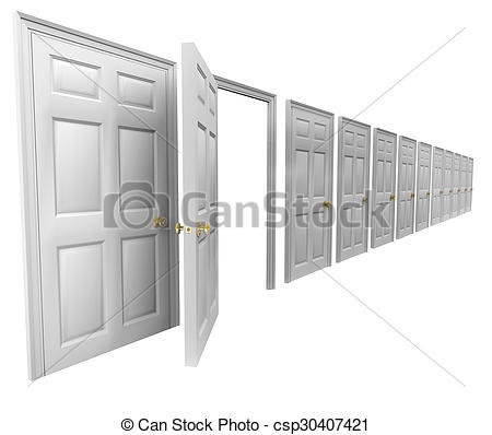Door clipart plan #10