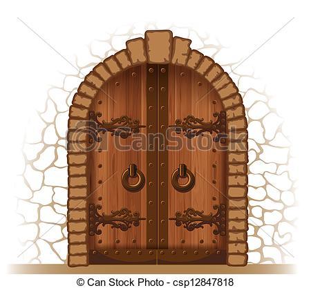 Doorway clipart puerta #10