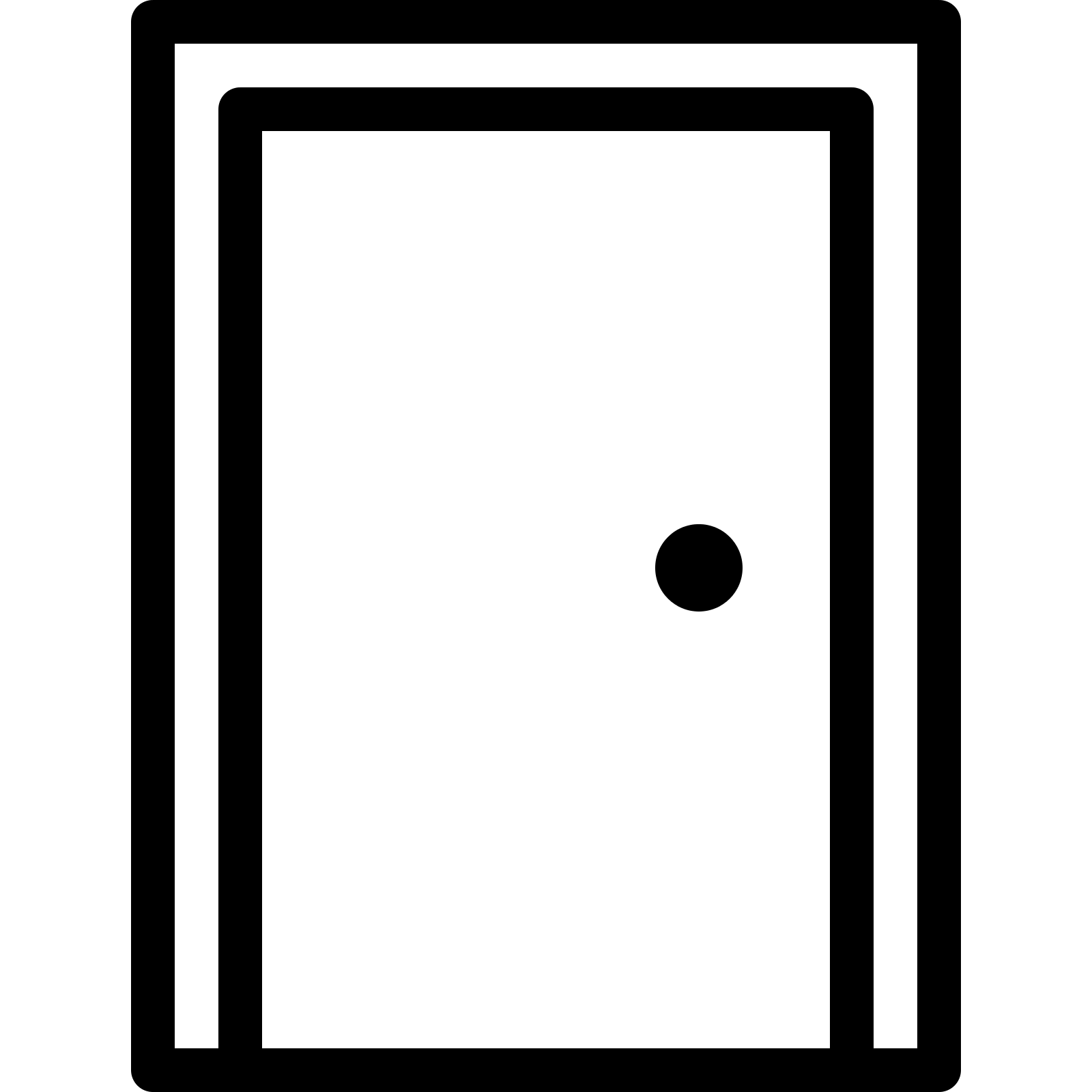 Door clipart rectangle shape The shape like Download Inside