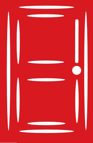 Door clipart red Red Zone door Red Doors