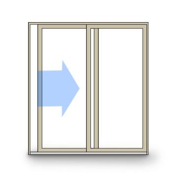 Door clipart sideways Sliding Door Awning Operation