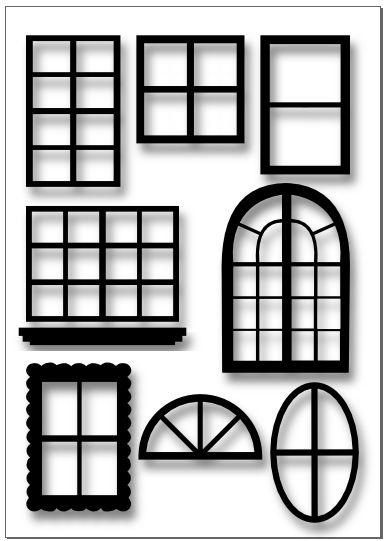 Door clipart square window Cliparts Square Clip Clip Window