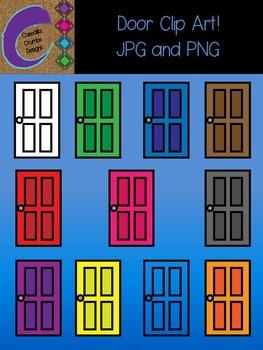 Color clipart door Door Clip Color Art Teachers