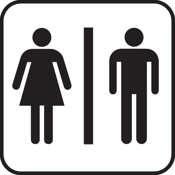 Door clipart toilet door  bathroom women/men we for