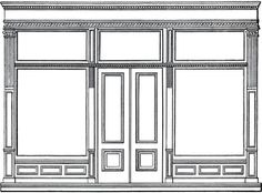 Window clipart rectangle Trim Door Free Store Classic