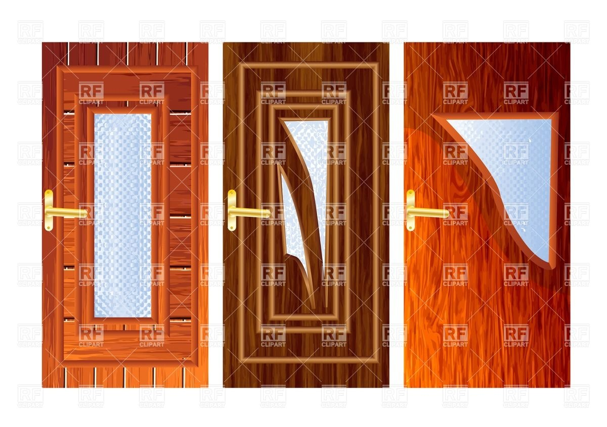 Door clipart wood door Clipart Doors Clipart