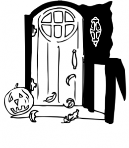 Doorstep clipart Doors 2 Download Halloween Art