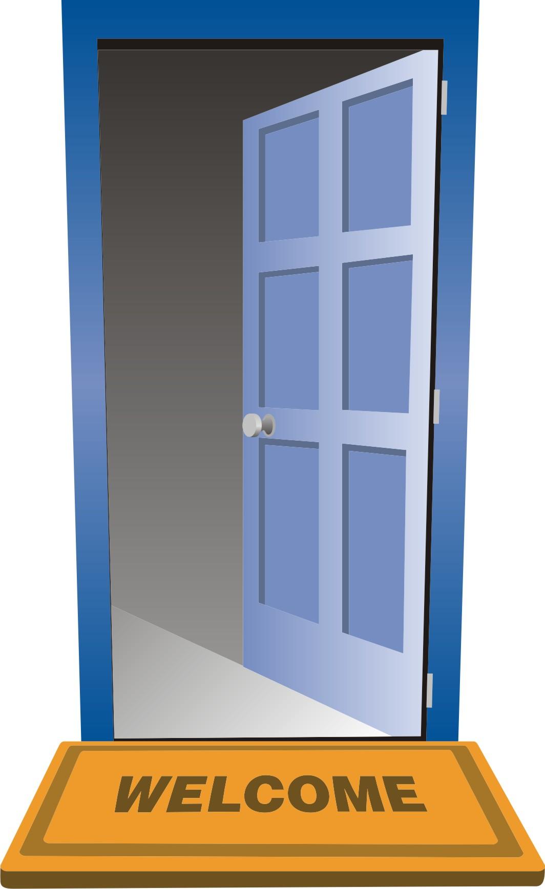 Open Door clipart Com Door clipart open Ajar
