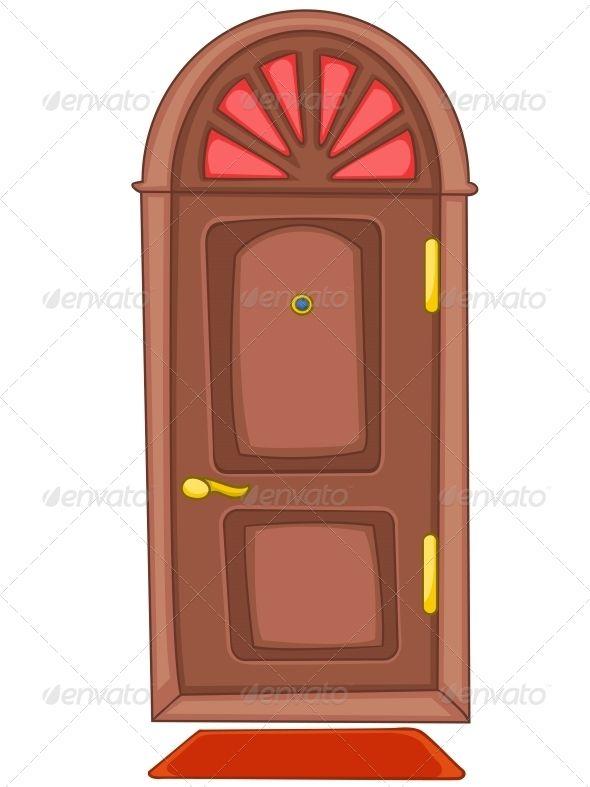 Doorway clipart cartoon #6