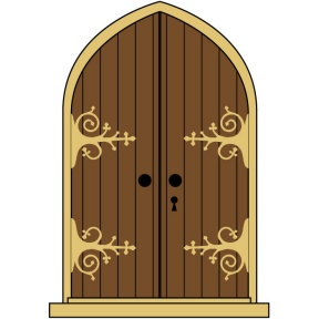 Doorway clipart castle Doors Door Castle Medieval Castle
