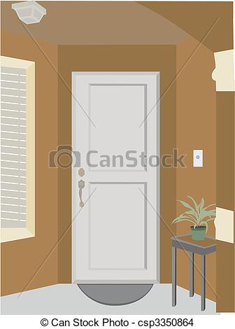 Doorway clipart entrance Angled into EPS plant plant