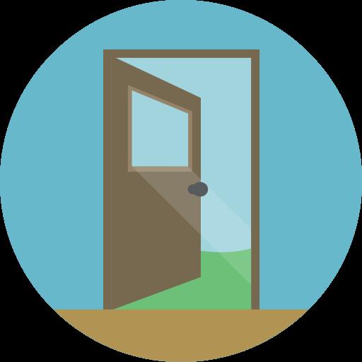 Doorway clipart exit door Access Size Door Door Exit