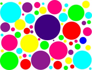 Dots clipart colored circle Images Free Clipart Clipart Clipart