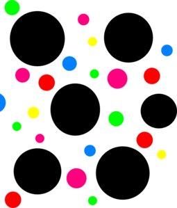 Dots clipart dotted line Art clip art Clip Polka