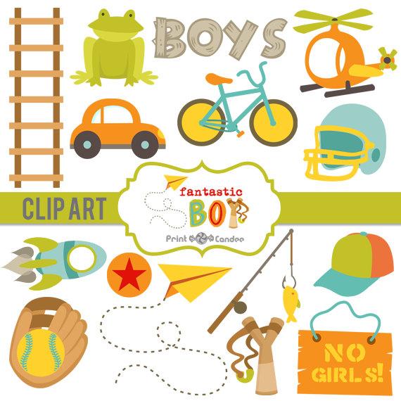 Dots clipart airplane Bike Outdoors Boy Sports Digital