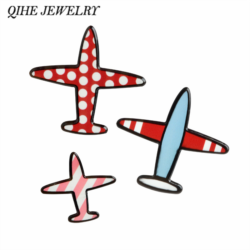 Dots clipart airplane Brooch Buy Lapel stripe Badges