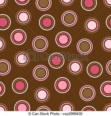 Dots clipart brown Pink Dots and Brown Dots