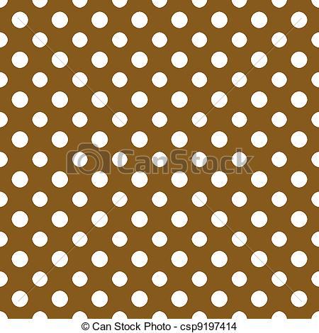 Dots clipart brown PolkaDot polkadot White Brown Paper