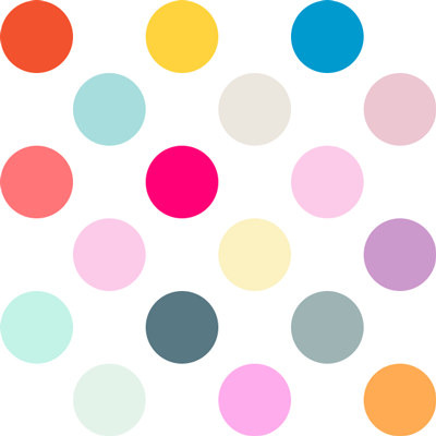 Dots clipart colored circle Use tutorial dot create the