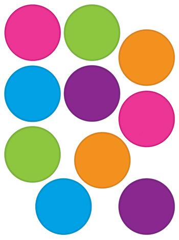 Dots clipart colored circle Accents  Circles Colors Bright