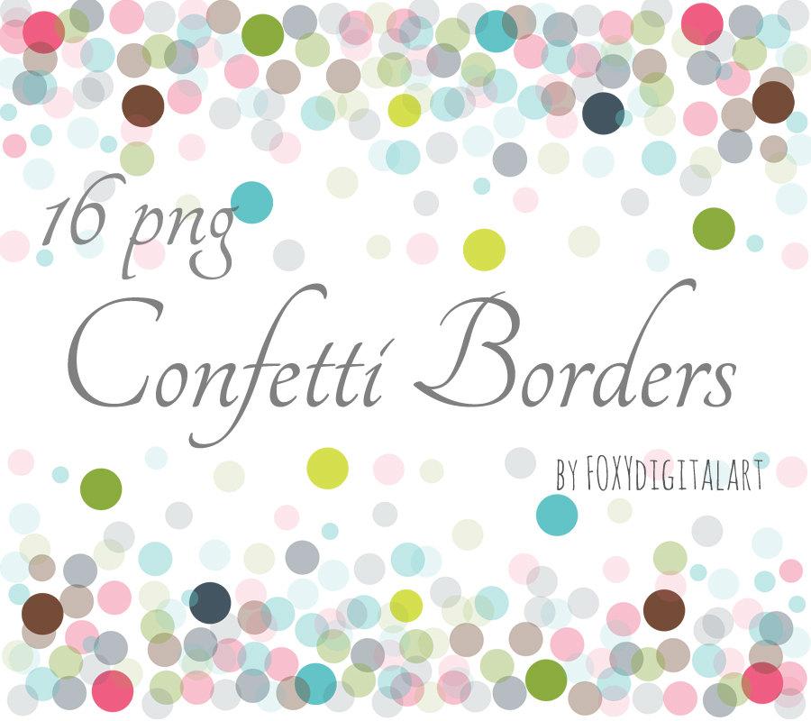 Dots clipart confetti Confetti Graphics Overlay PNG Confetti