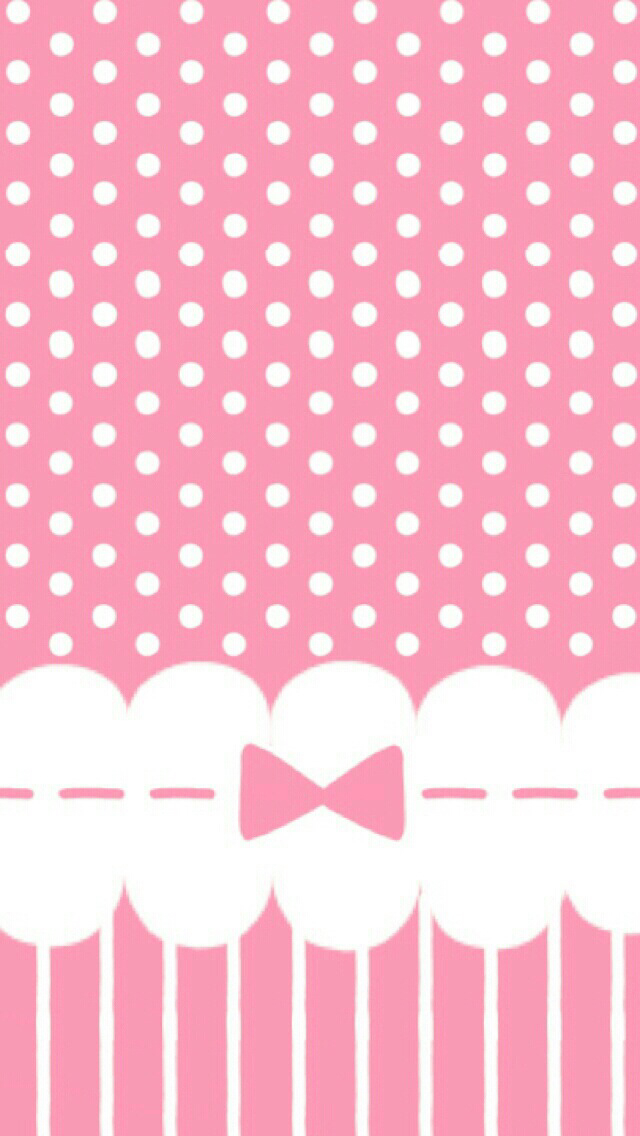 Dots clipart cute wallpaper The pink Bows every Bows