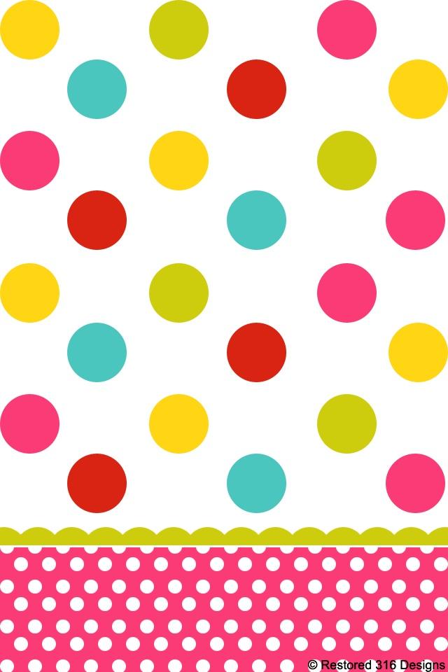 Dots clipart cute wallpaper 901 best backgrounds Dots on