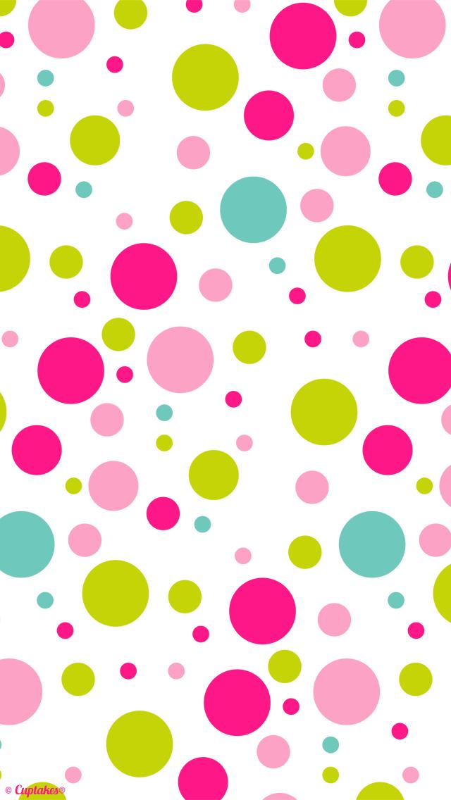 Dots clipart cute wallpaper Wallpaper … Wallpaper iPhone 5