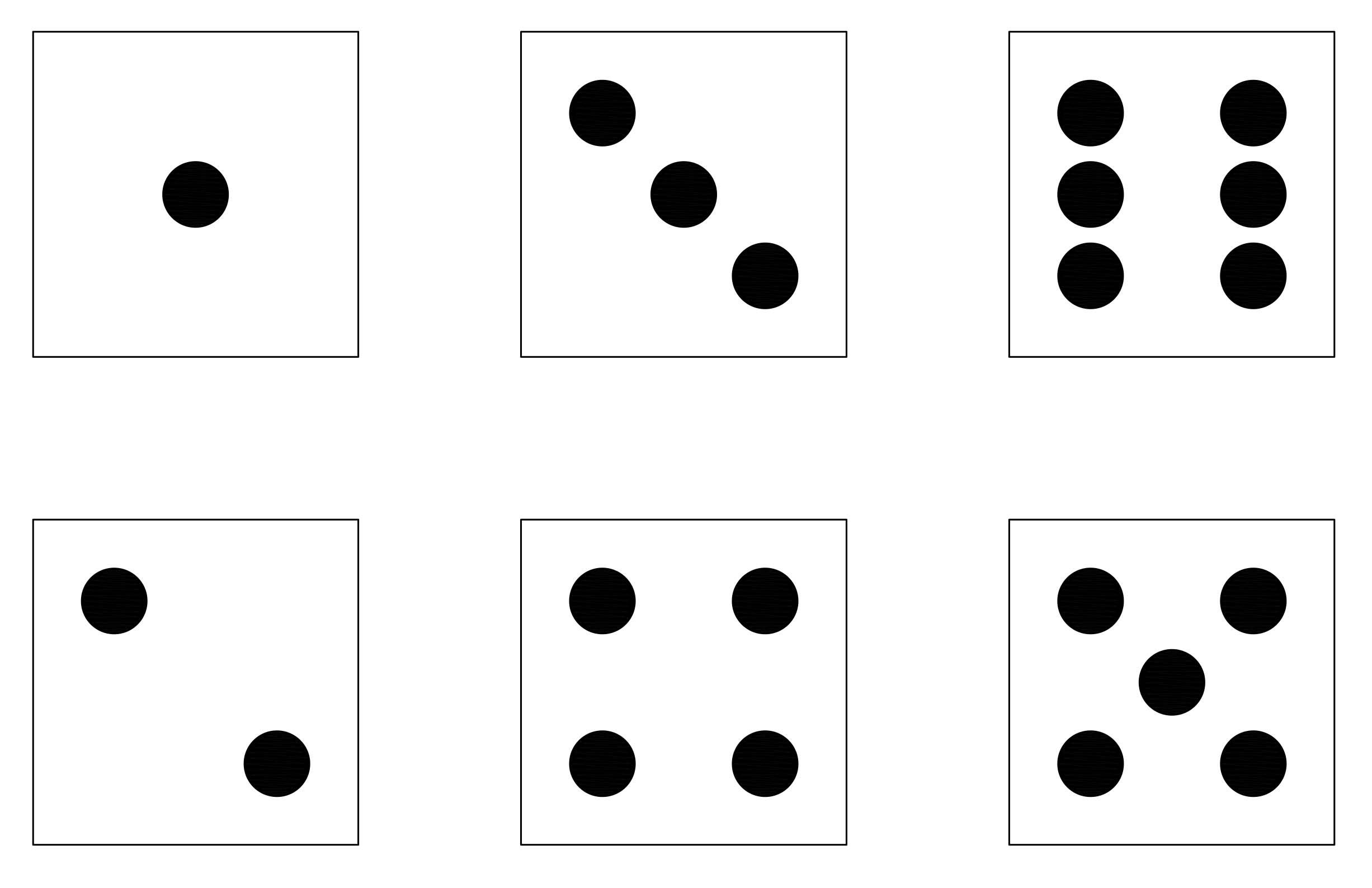 Dots clipart dice Clipart dots (53+) dice template