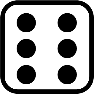 Dots clipart dice The for above little dots