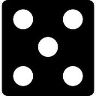 Dots clipart five With dots Free Download Dice