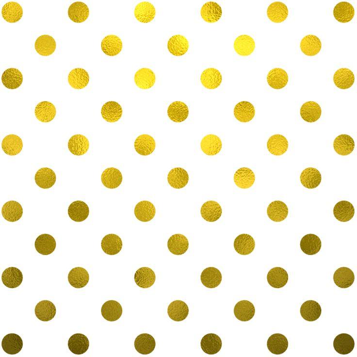 Dots clipart gold dot #8