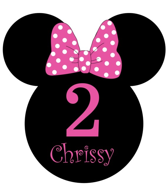 Birthday clipart minnie mouse Art Mouse pink minnie Art
