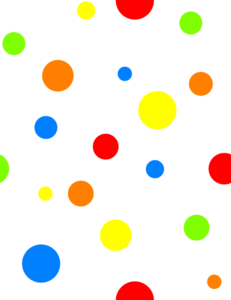 Dots clipart rainbow #4