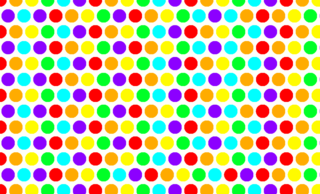 Dots clipart rainbow #11