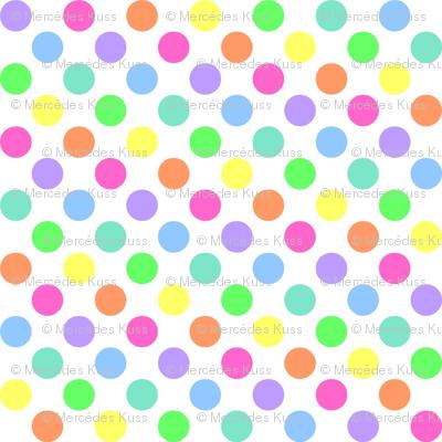 Dots clipart rainbow #13