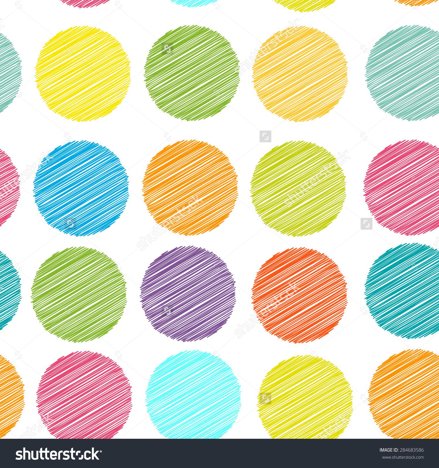 Dots clipart rainbow #5
