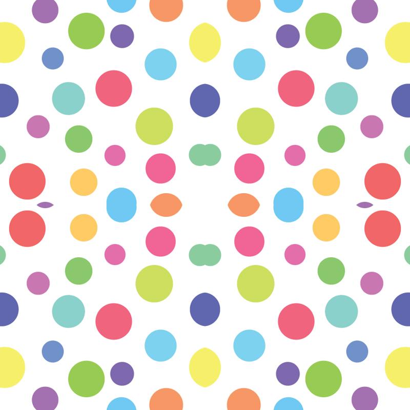 Dots clipart rainbow Rainbow giftwrap Circus Spoonflower 13blackcatsdesigns