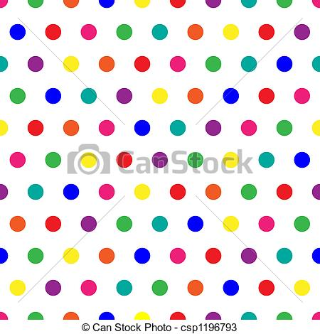Dots clipart rainbow Csp1196793 of Dots Dots Rainbow